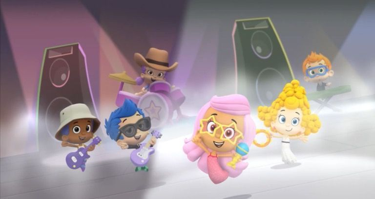 Jr bubble guppies guppy style part image