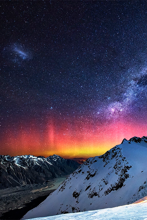 You can't disguise sad eyes, Galactic Dance - New Zealand (by Jay Daley)