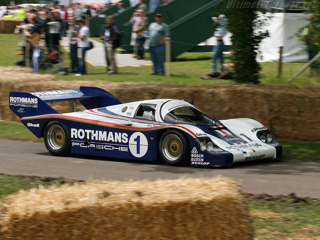 Porsche 956 Porsche 956 / 001 - 2007 Goodwood Festival of Speed