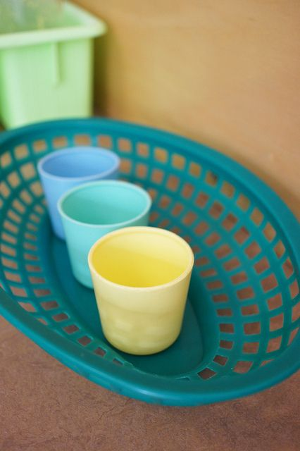 Coordinating plastic cups | Flickr - Photo Sharing!