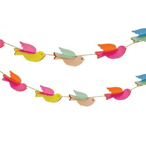 Mini Banderola Pássaros