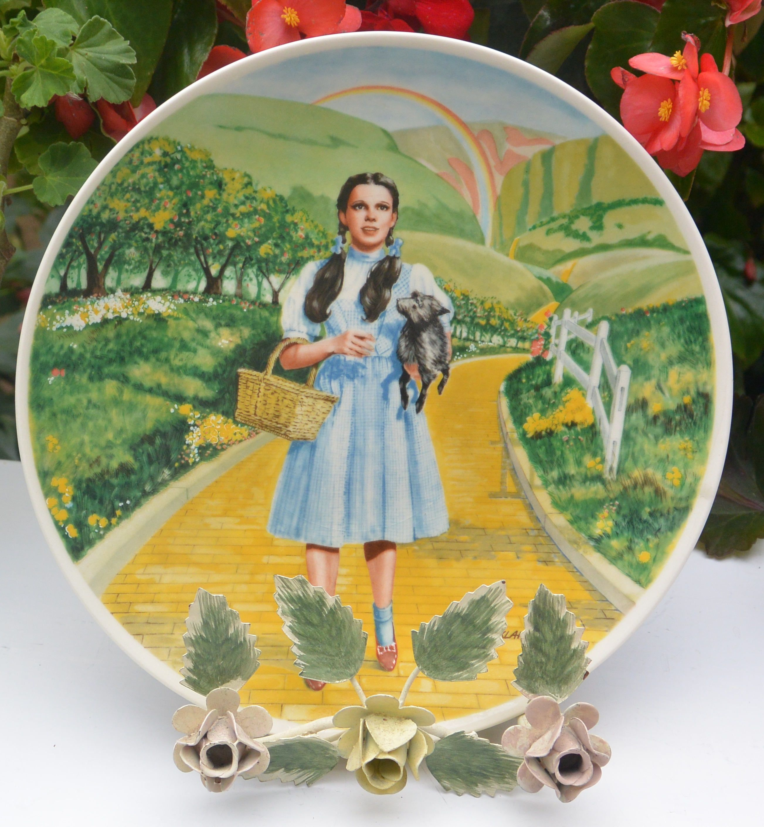 Dorothy Wizard Of Oz Plate
