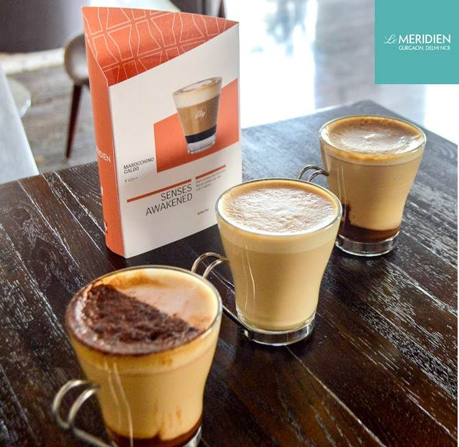 Stop in at @lemeridiengurgaon Hub for a Marocchino Caldo from @illycaffe, an inspired blend of espresso with a hint of cocoa powder and frothed milk   http://bit.ly/1P0QKmV   #LMGurgaon #LMcoffee #illy
