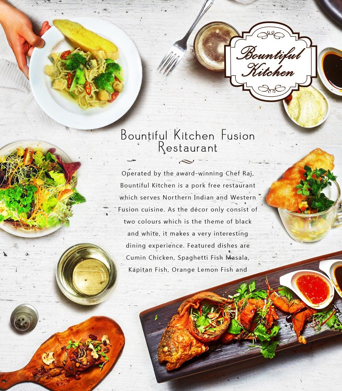 Operated by the award winning chef raj bountiful kitchen