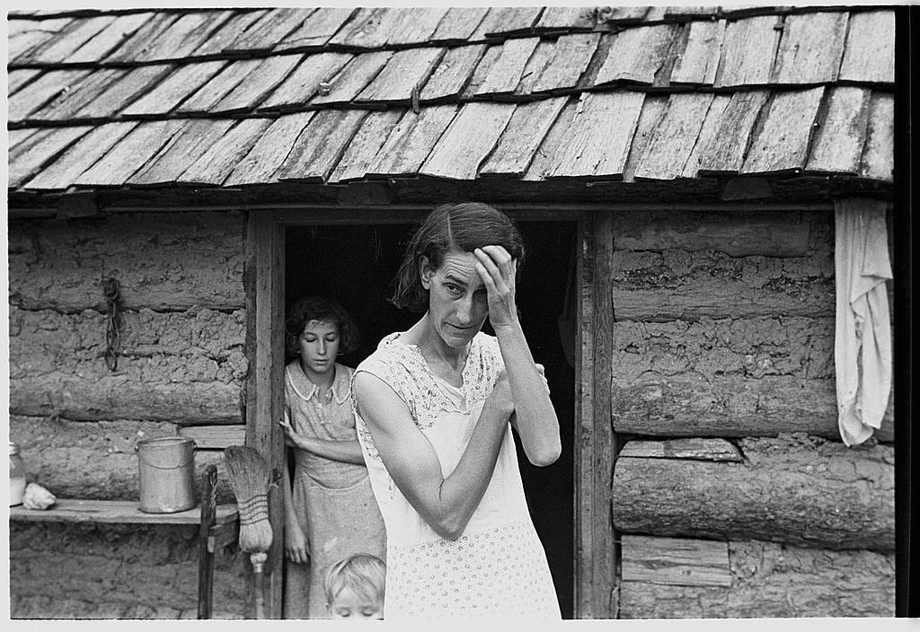sharecropper families of the 1930s Walker evans, Ben