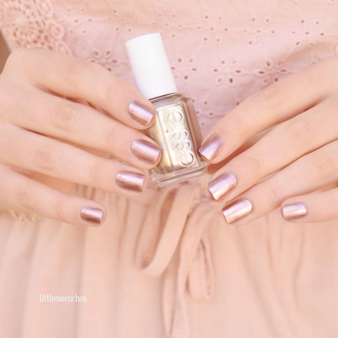 this statement-making authentic copper metallic essie nail lacquer ...