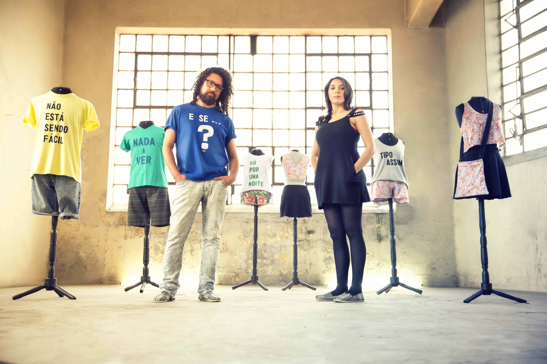 @gangoficial apresenta Verão 2015 com peças dos vencedores do Criadores Gang:  Eduardo Egs e Claudia Goulart - Portal #Fashion RS - #CriadoresGang #ALQME