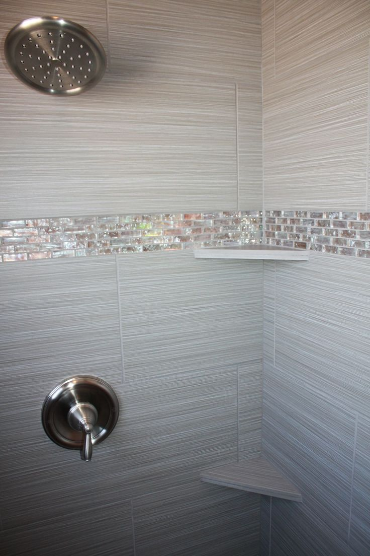 Best 25+ Shower accent tile ideas on Pinterest | Vertical shower ...