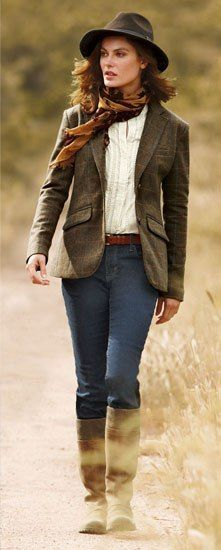 Image Result For English Country Style Clothing