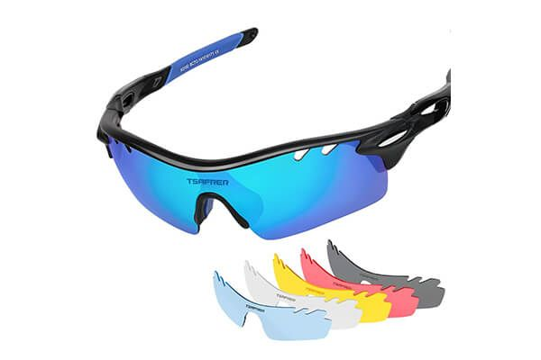 fc2ba3c83b7 Tsafrer polarized sports sunglasses