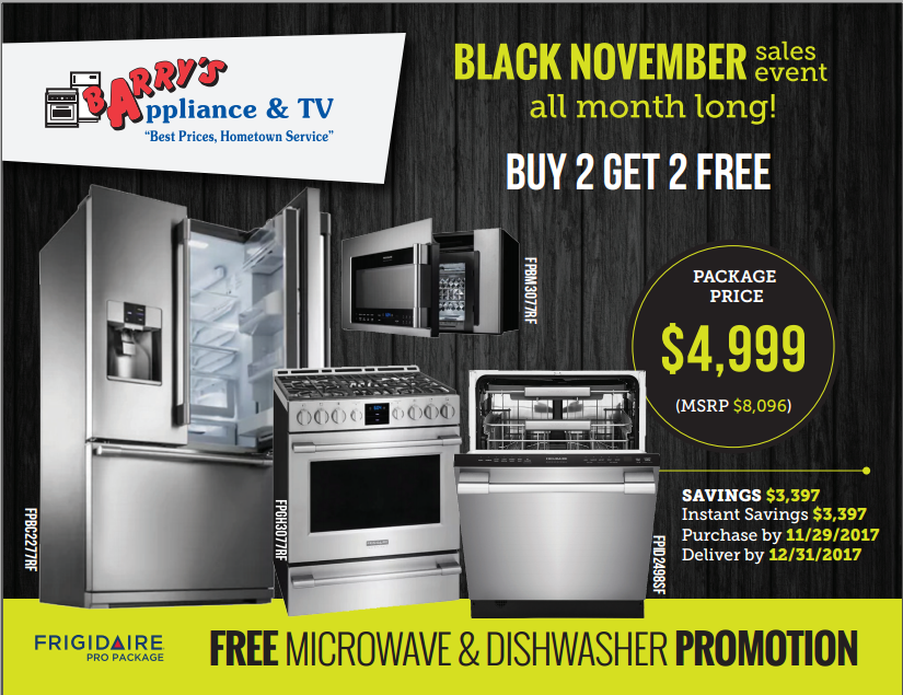 Ready, set, go! The deals are on! Save $3,397 with this Frigidaire ...