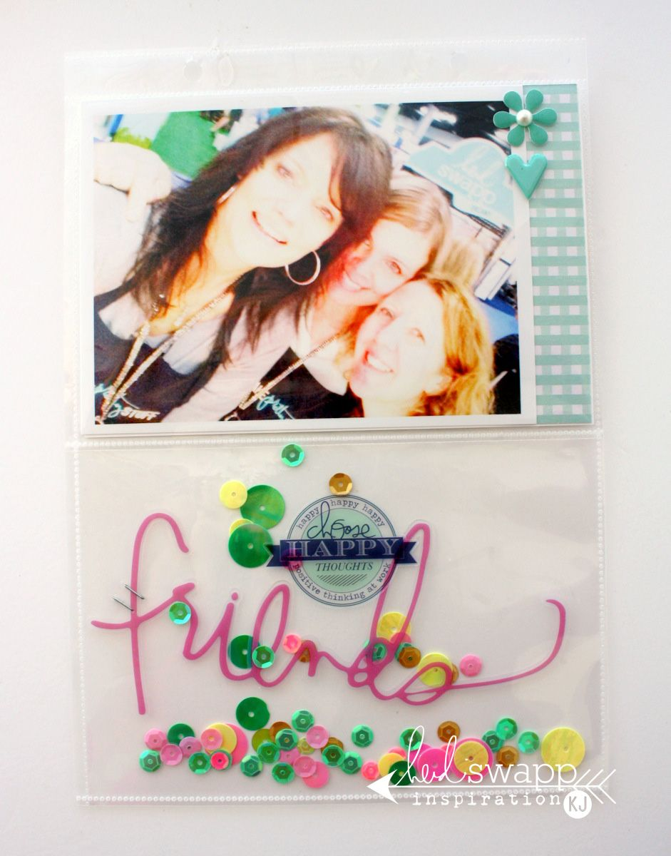 insta-love make pretty stuff mini album « Heidi Swapp @kimjeffress @heidiswapp #heidiswapp #heidisfavoritethings #DIY #scrapbooking