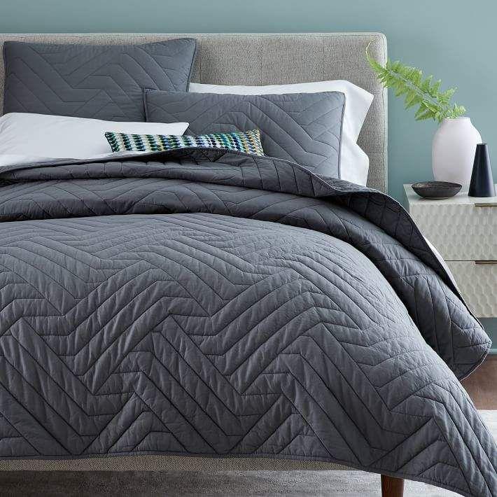 a457d313e5 west elm Duvet Cover | Products | Cotton bedding, West elm duvet, Quilts