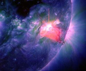 Two Solar Flares Say Goodbye 2013 and Welcome 2014