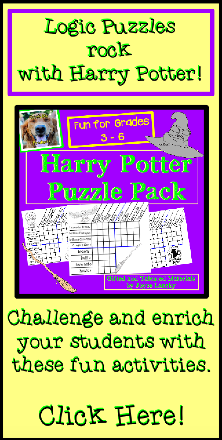 Students Love Logic And Harry Potter So Click Here To Find Both In A Fun And Engaging Bundle By Catch My Products Logic Puzzles Teaching Teaching Activities