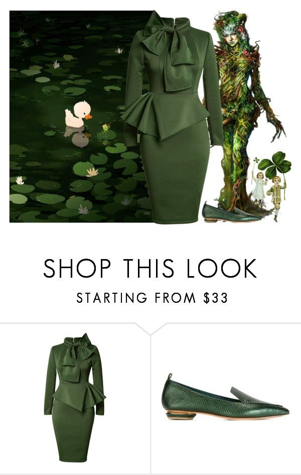 """""""A happy Spring"""" by didesi ❤ liked on Polyvore featuring Nicholas Kirkwood"""