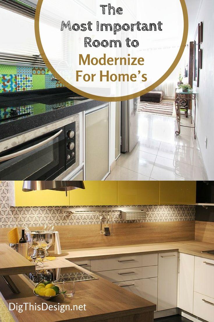 The Most Important Room to Modernize For Home&39;s Best Resale Value   Home design diy, Diy kitchen ...