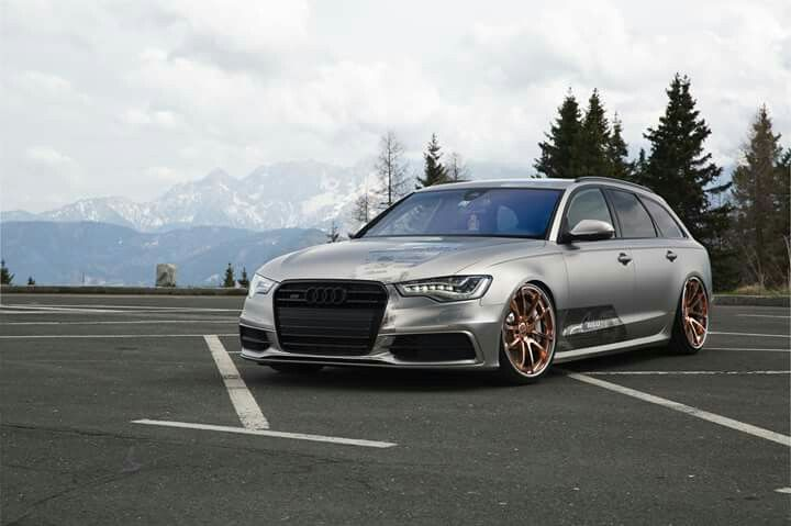 Audi rs6 clean tunning