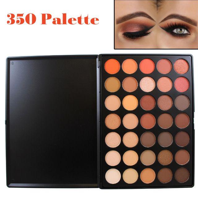 Paleta Profesional De Sombras De Ojos De 35 Colores Color Calido