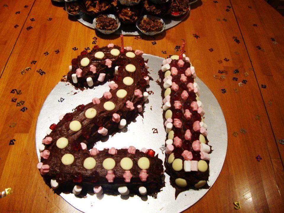 21 cake