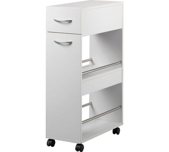 Home Slim Kitchen Trolley With Drawer At Argos Co Uk Visit