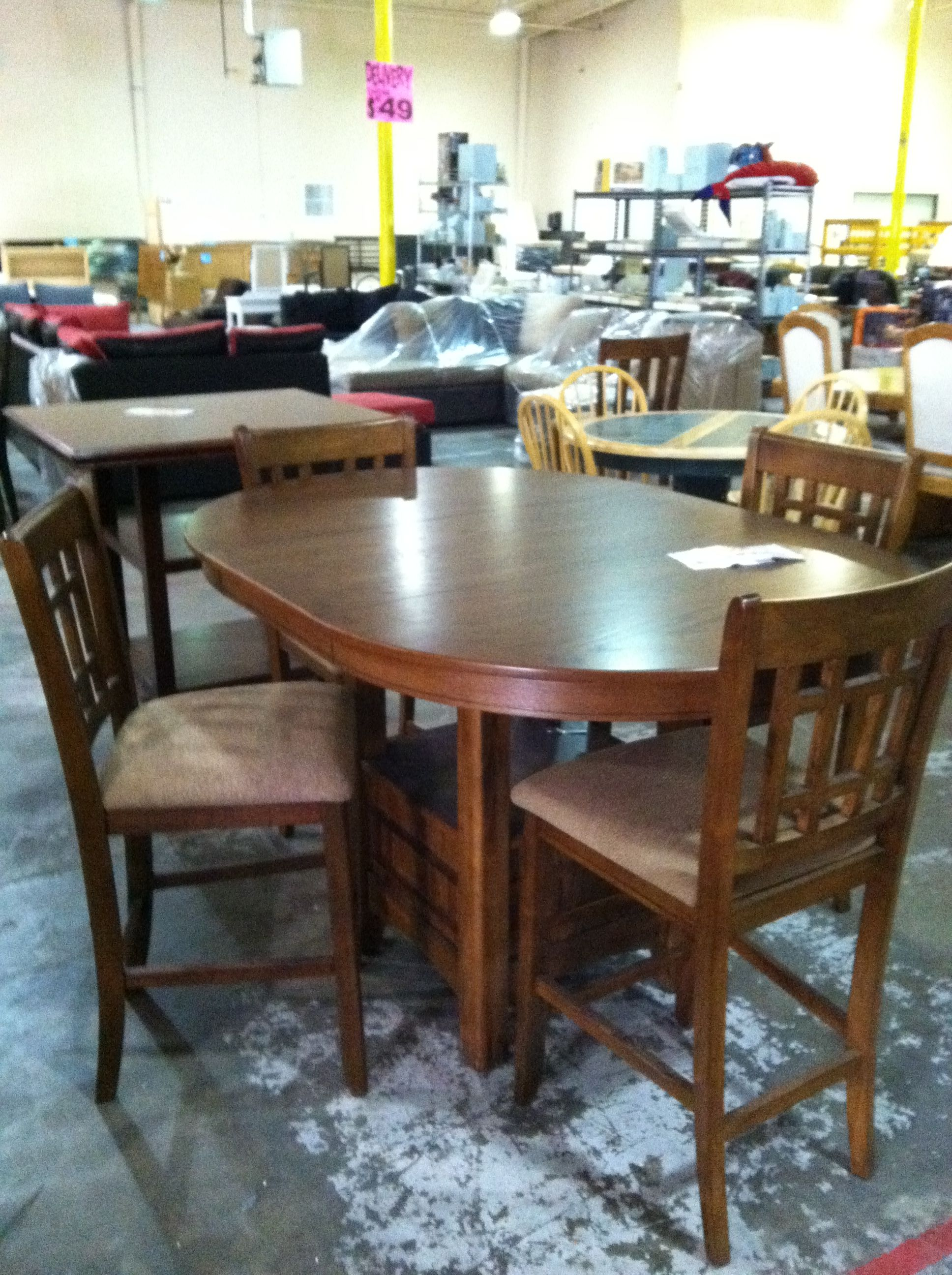 Cheap Price Furniture My New Dining Set Found In A Lil Gold Mind Cheap Price But Not