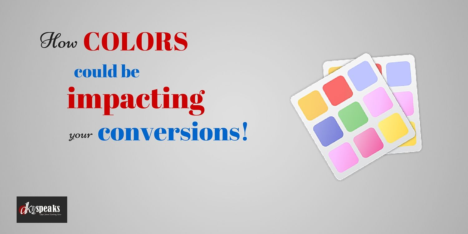Is Your Website's color driving away your visitors? But Hold on! There is something that you can do to drastically improve the conversions. Read on to know what you need to do!