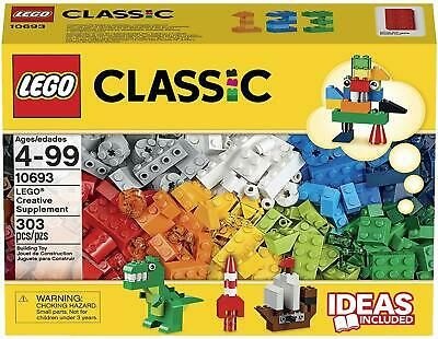 LEGO Classic Creative Supplement 303 pcs Building Blocks 10693 NEW FREE SHIPPING…