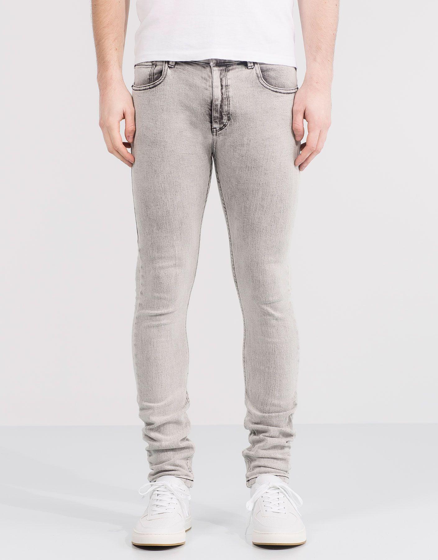 Skinny Super Jeans Acid Vaqueros WashPantalones Fit y0m8wNOnv