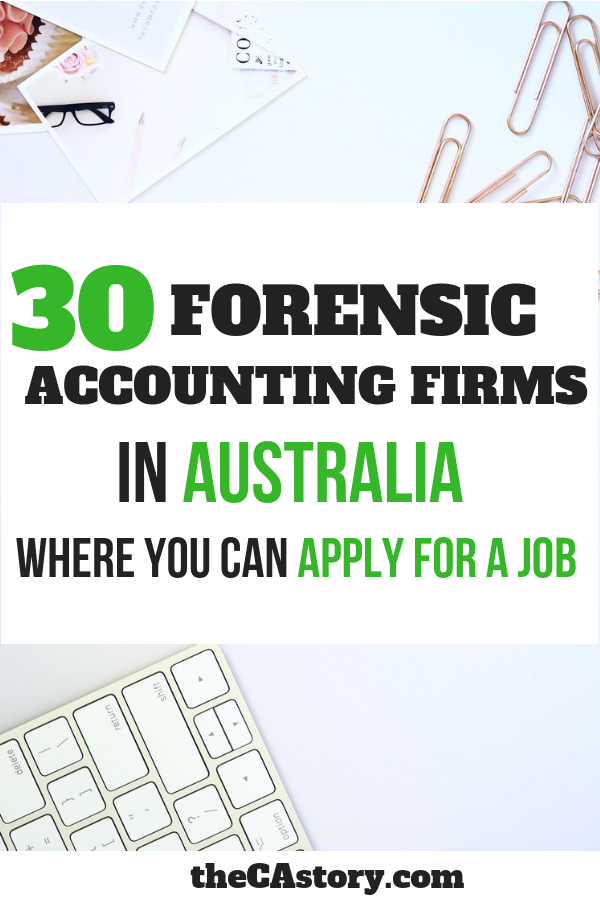 Top Forensic Accounting Firms In Australia You Did Not Know About Forensic Accounting Accounting Firms Accounting Jobs