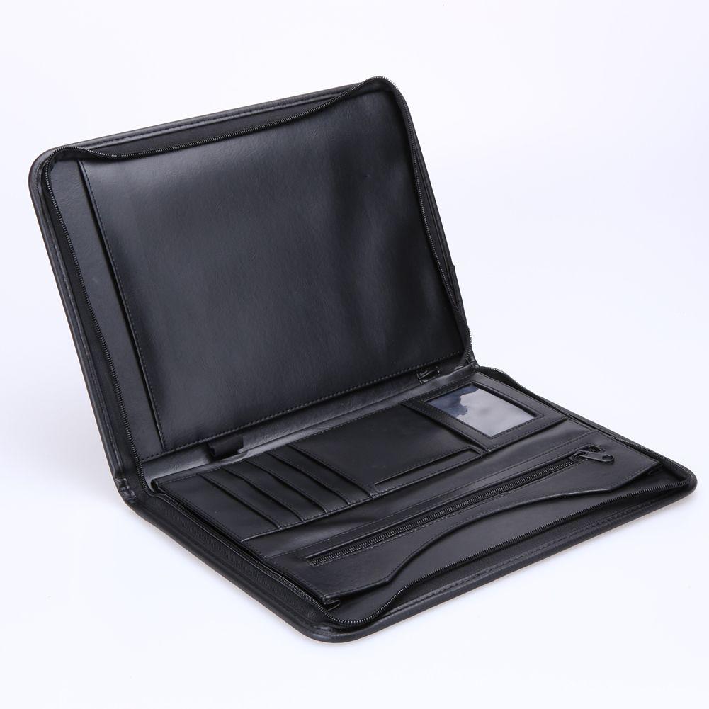 ASLT business zipper portfolio A4 documents folder cases ...