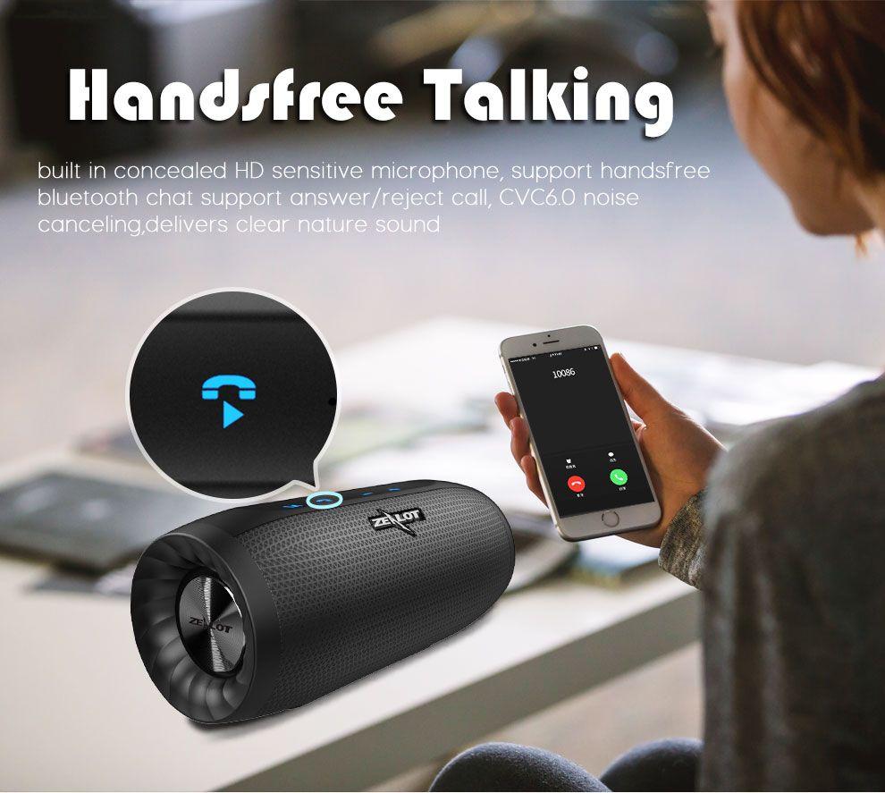 Zealot S16 Hifi Portable Bluetooth Speaker Dual Units 4000mah Outdoors Waterproof Tf Card Soundbar Audio Video Devices From Consumer Electronics On Banggood C Bluetooth Speakers Portable Vr Device Sound Bar