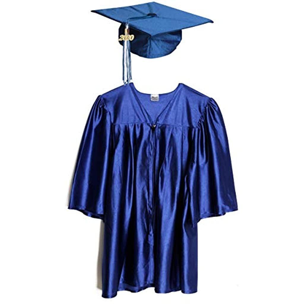 Preschool And Kindergarten Graduation Cap And Gown Tassel And 2020 Charm In 2020 Graduation Gown Graduation Cap And Gown Cap And Gown