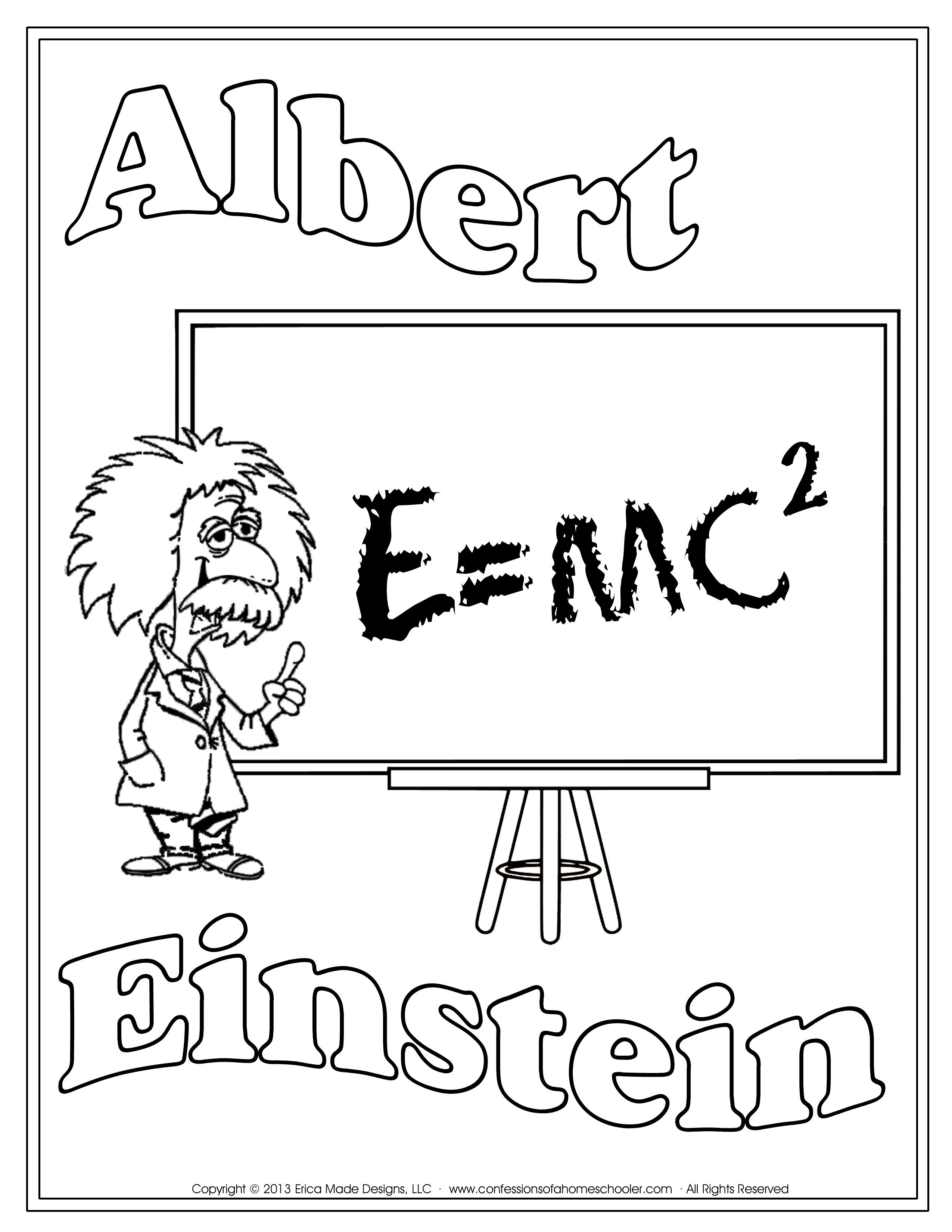 Unit Studies on great scientists: Einstein, Bell, Franklin