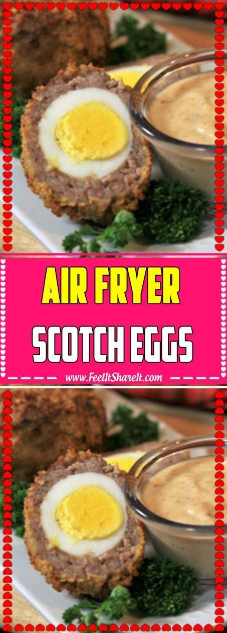 Air Fryer Scotch Eggs   - ✨ Delicious Dinner Recipes - #Air #Delicious #Dinner #eggs #Fryer #Recipes #Scotch #scotcheggs