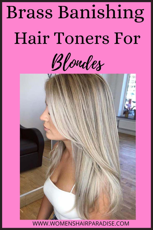 6 Best Toners For Blonde Hair Women S Hair Paradise In 2020 Brassy Hair Toner For Blonde Hair Cool Blonde Hair