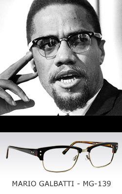 4ba11ce5de Malcolm X-Clubmaster Eyeglasses Malcolm X