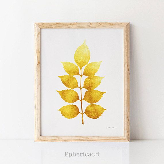 ❖ Printable Wall Art • Download, Save & Print ❖ Mustard Yellow ...
