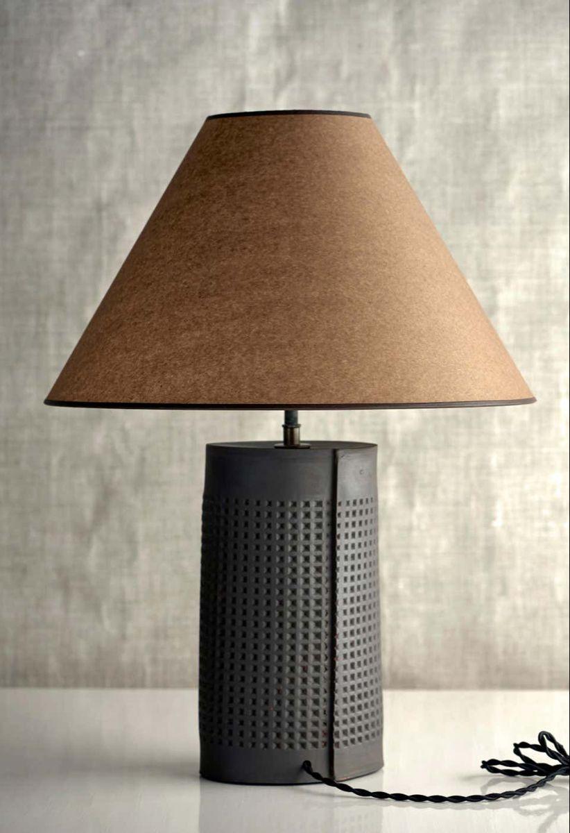 Thira Lamp Extra Large Ceramic Sculptural Table Lamp By Dumais Made Lamp Table Lamp Beautiful Table Lamp