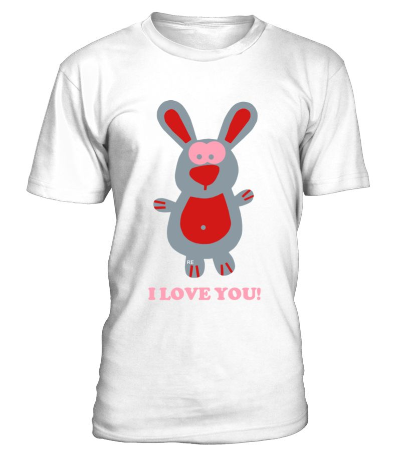 I love you Bunny Hare rabbit Cupid couple Kiss Fun, LGBT, LESBIAN, GAY, PRIDE  Funny Human Rights T-shirt, Best Human Rights T-shirt