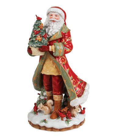 Look what I found on #zulily! Bellacara Santa Figurine by Fitz and Floyd #zulilyfinds