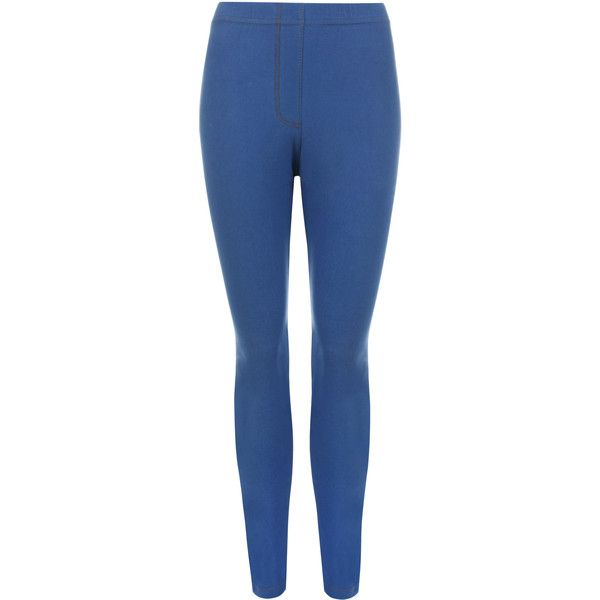 Eileen Full Length Denim Jeggings ($21) ❤ liked on Polyvore ...