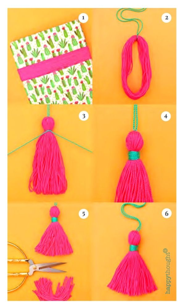 Photo of EASY DIY TASSELS