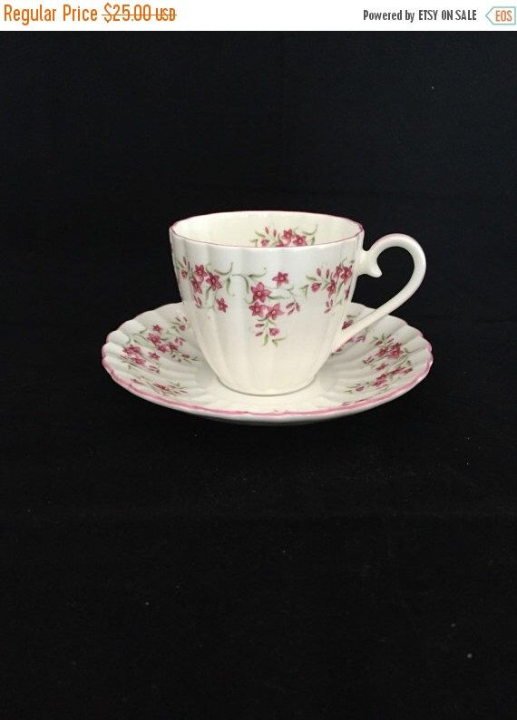 A personal favorite from my Etsy shop https://www.etsy.com/ca/listing/244473867/on-sale-teacup-royal-tuscan-white-teacup
