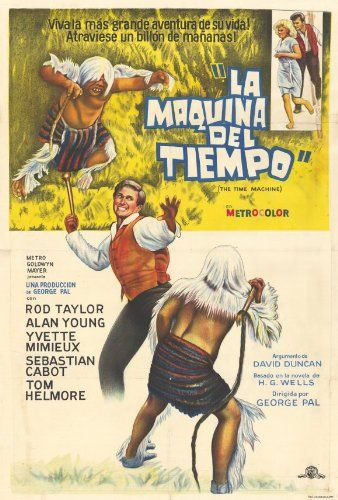 The Time Machine 1960 Imdb Maquina Del Tiempo Maquinista Ver Películas