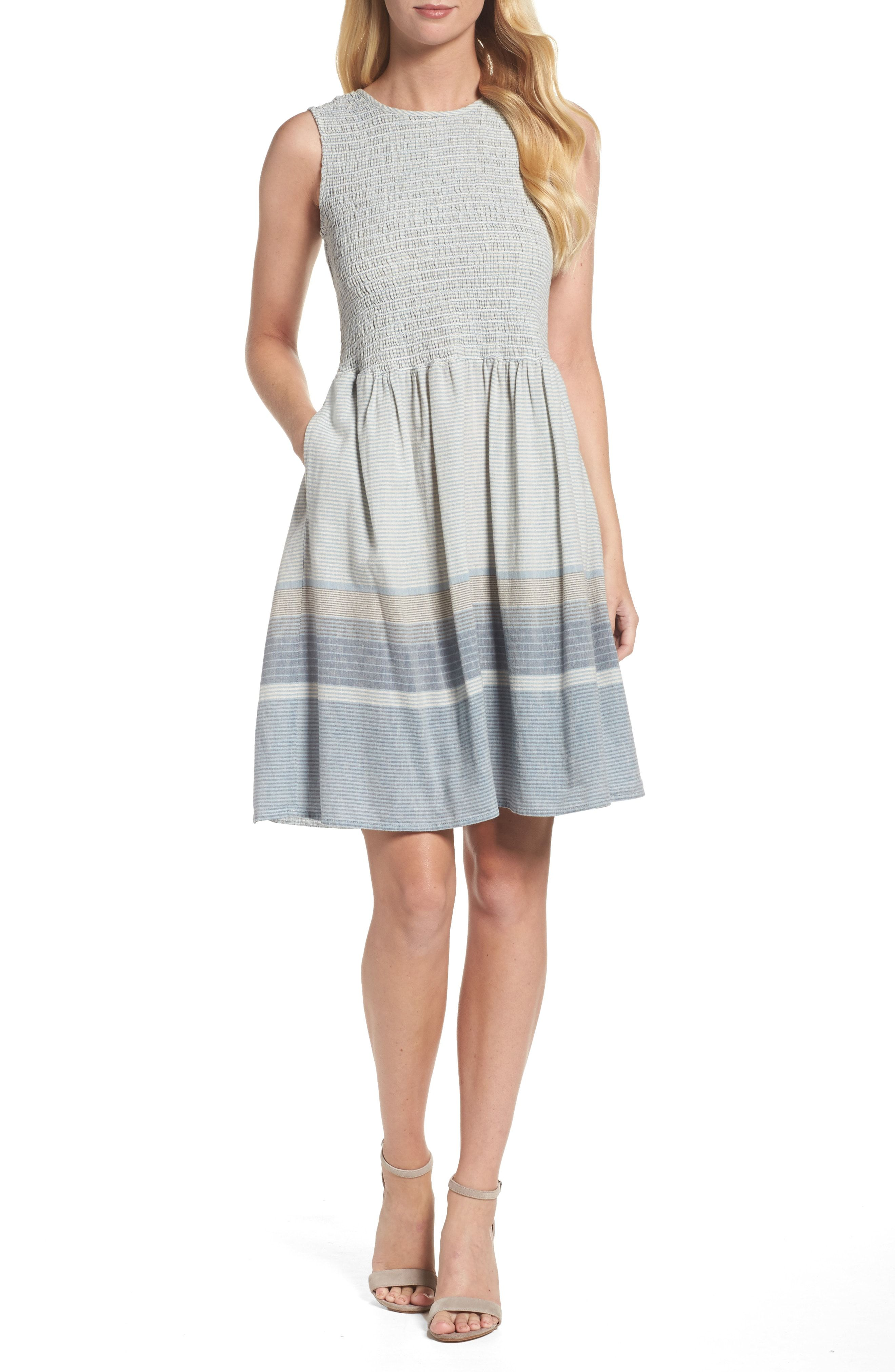 French Connection Women's Serge Stripe D