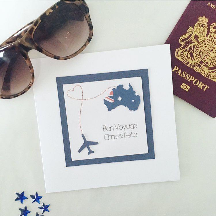 Key to Adventure Personalised Travelling Card Adventure Card Personalised New Job Keepsake Card Personalised Bon Voyage Card