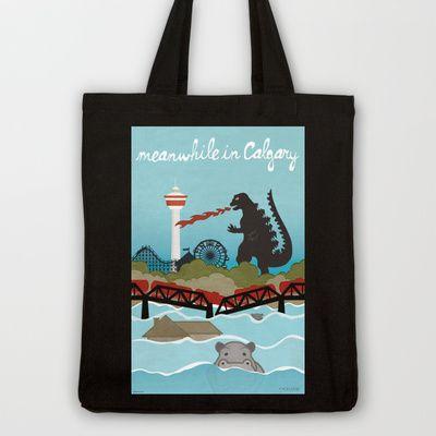 YYCFlood Tote Bag by KeliGirl - $18.00