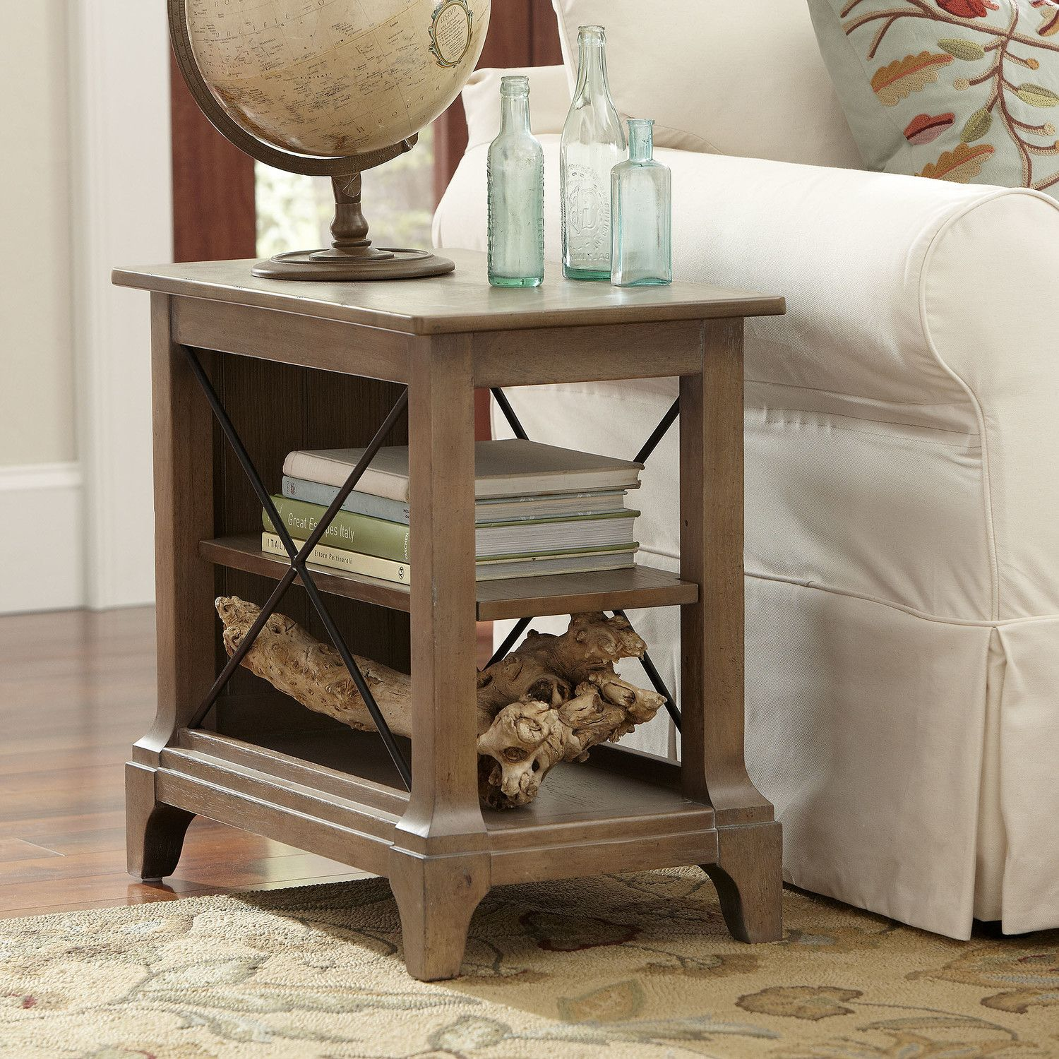 Birch Lane Kenmore Chairside Table Chair Side Table End Tables Furniture #oak #end #tables #for #living #room