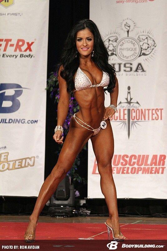Jessica Arevalo | Fitness motivation | Pinterest | Npc